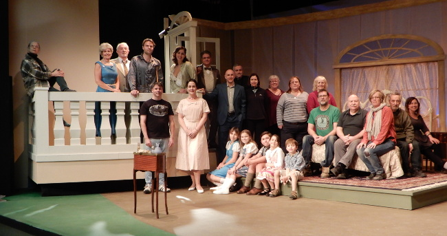 Cast and crew of Cat on a Hot Tin Roof