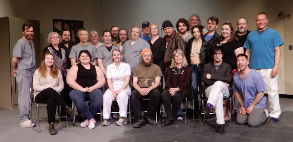 The cast and crew of One Flew Over the Cuckoo's Nest