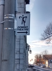 Domino Theatre sign on King St.