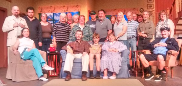 On Golden Pond cast and crew