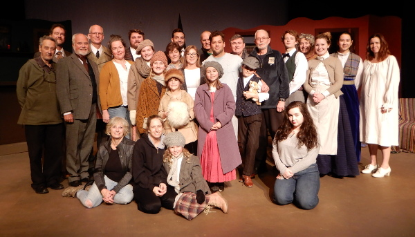 Cast and crew of Yes Virginia, There Is a Santa Claus